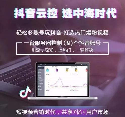 中海时代抖音云控营销系统
