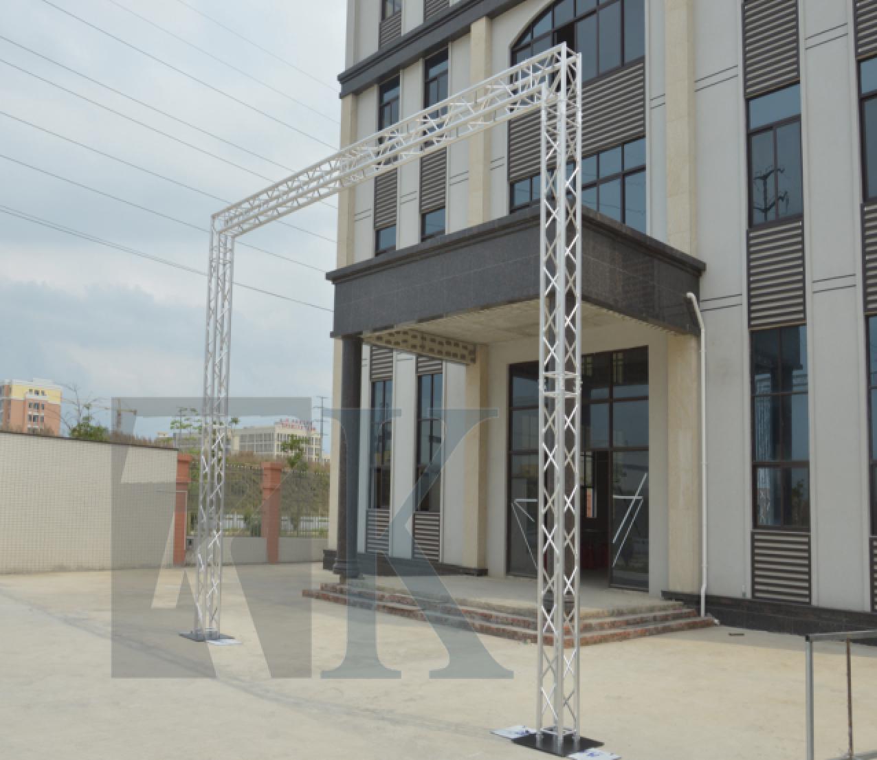 RK雷克厂家 铝合金桁架 龙门架 坚固耐用可订制 展览演出搭建