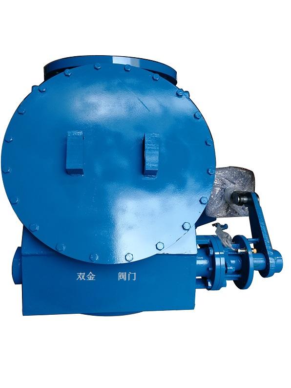Q648MX-10/16球面偏置式气动钟阀