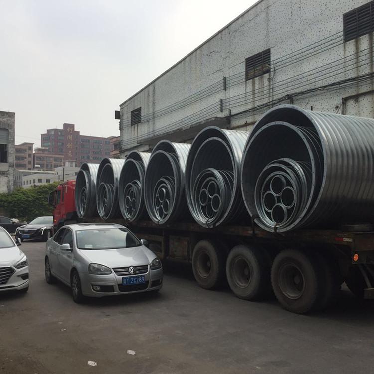 佛山铭流厂家直销DN800镀锌螺旋风管 通风管道价格